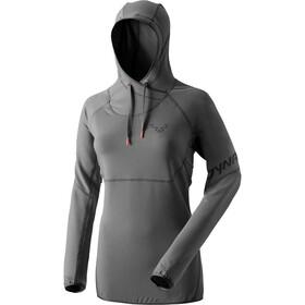 Dynafit 24. Jul Sweat-shirt à manches longues à capuche Femme, asphalt